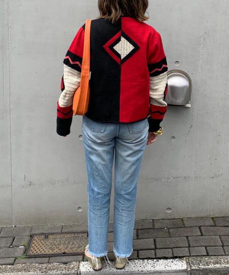 ウール タペストリー ジャケット