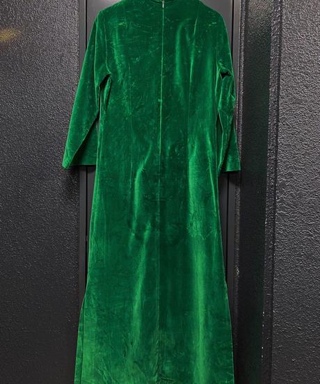 1960年代 ヴィンテージ ベロアドレス