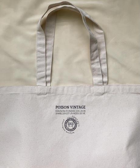 POISON VINTAGE オリジナル キャンバストートバッグ