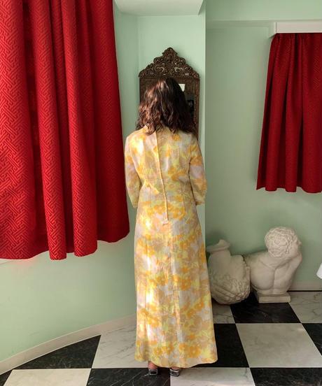 1970年代 ヴィンテージ ドレス