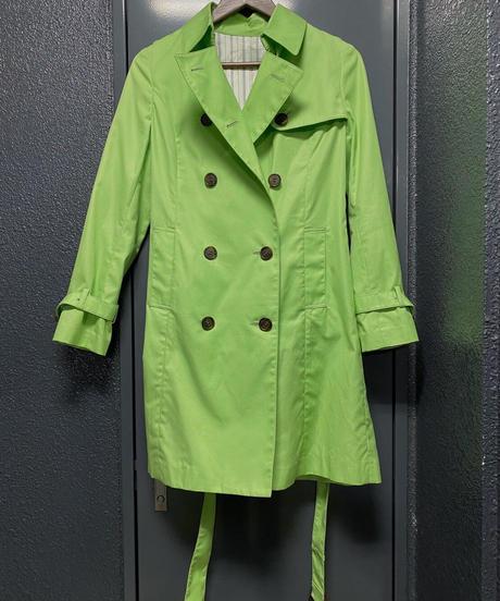 ヴィンテージ アップルグリーンカラー コート