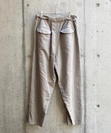 VU - tapered pants [ LIGHT GRAY ]