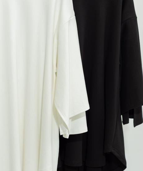 jiji - FRILL SHIRT [ BLACK ]
