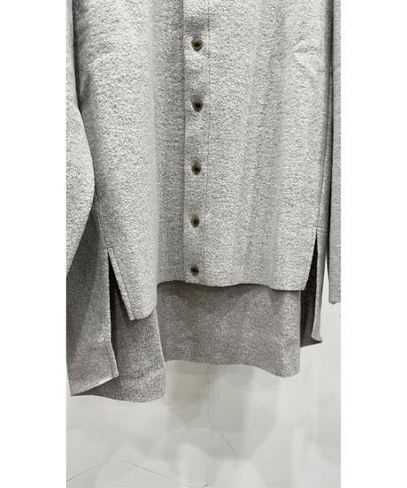 VOAAOV - Wool Ring Jersey Cardigan [ BEIGE ]