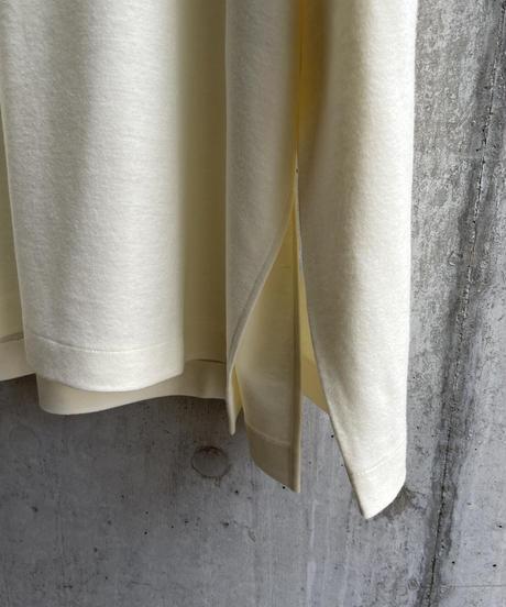 VUy - highneck knit [ WHITE ]