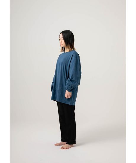 jiji - L/S TEE [ BLUE ]