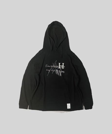 【 受注生産 】HIBANA - BIG PARKER [ BLACK ]