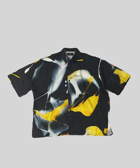 [ 感覚ピエロ × macromauro × VUy ] original dolman shirt [ PAINT BLACK ]