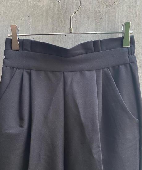 jiji - FRILL PANTS [ BLACK ]