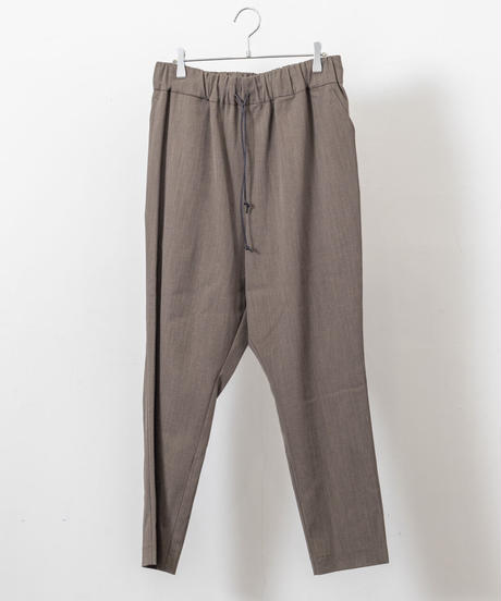 VOAAOV -  Clear Twill Tapered Pant [ BROWN ]