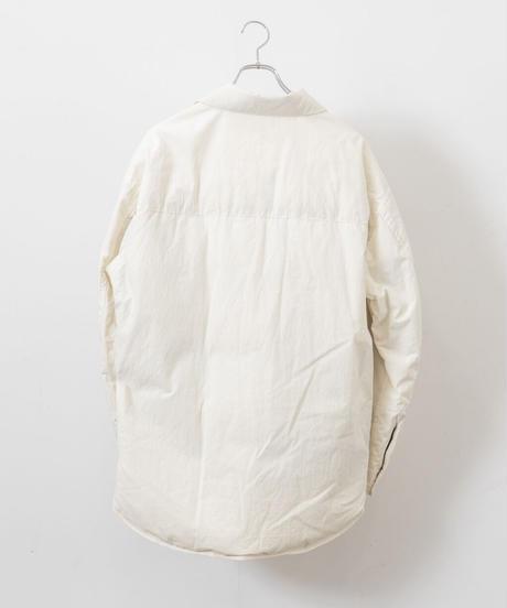 VOAAOV - Organic Cotton Broad Down shirt [ KINARI ]