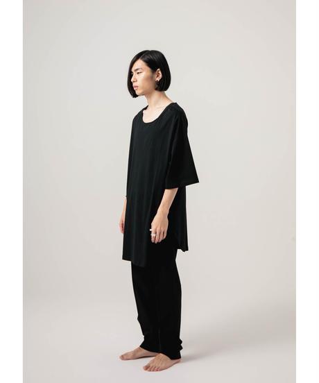 jiji - BIG SILHOUETTE TEE  [ BLACK ]
