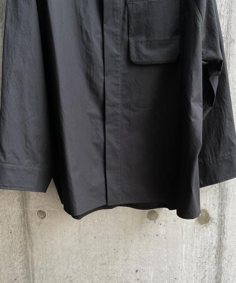 my beautiful landlet -  C/N DUMP BIG SHIRT [ BLACK ]