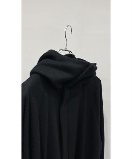 VU - hood coat [ BLACK ]