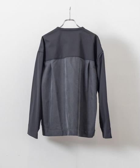 VOAAOV -  Clear Twill Cardigan [ BLACK ]