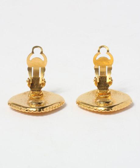 【CHANEL】1996年製 ダイヤココマークイヤリング