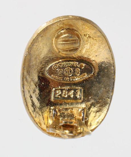 1993年製 オーバルココマークイヤリング