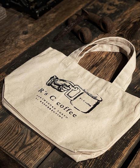 R's C coffee Mini hand bag (LOGO)