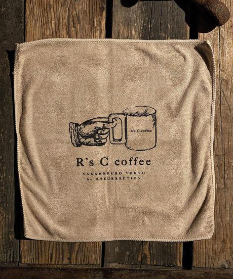 R's C coffee Handkerchief (LOGO)