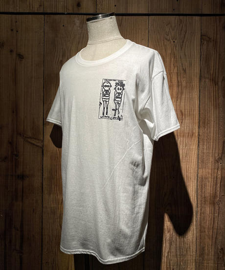 H.O.T.W graphic Tee #2 (WHITE)