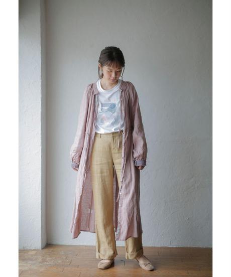 fog linen work ×Lithuania linen onepiece(ローズ)