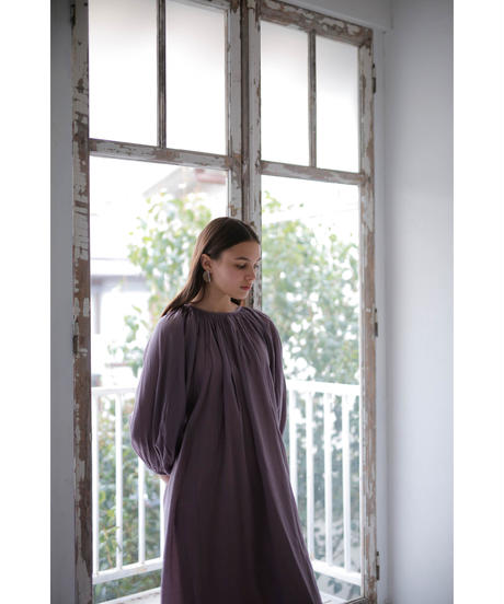 french vintage onepiece(lavender grey)