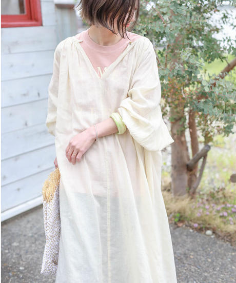 french vintage onepiece(natural)