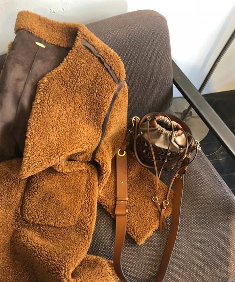 即納(original)teddy bear coat