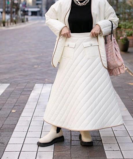 (original)キルティング スカート