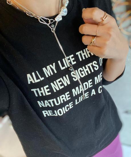 (select)シンプルロングTシャツ