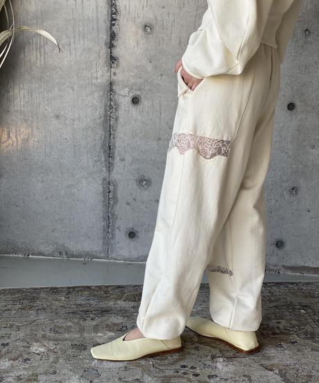 (select)レース切替ジョガーパンツ
