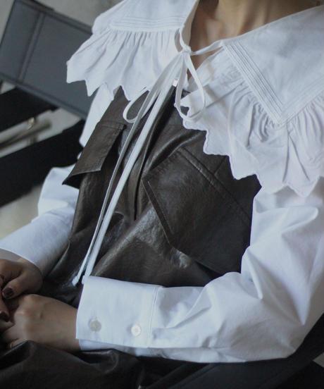 (original)セーラーカラー刺繍ブラウス