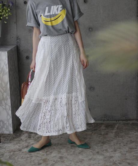 (select)レーススカート