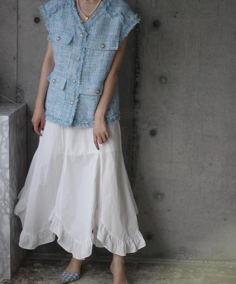 (select)フリルスカート