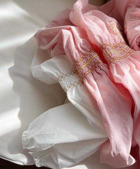 (original)スモック刺繡ブラウス