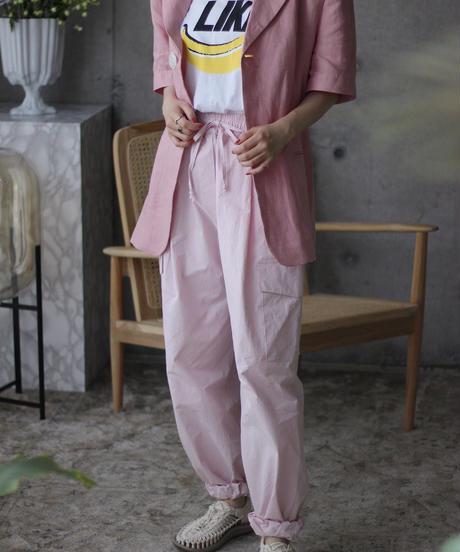 (select)リネンピンクジャケット
