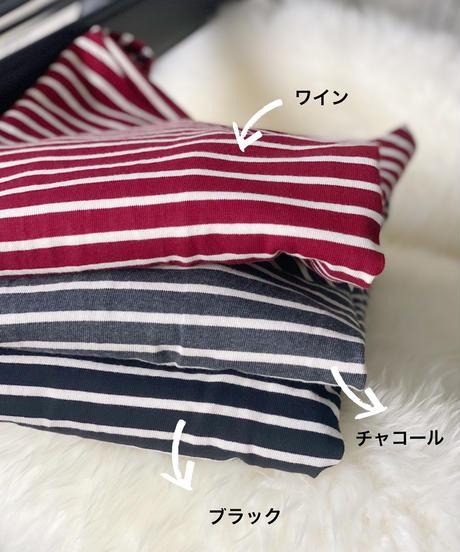 (original)2WAYボーダーTシャツ
