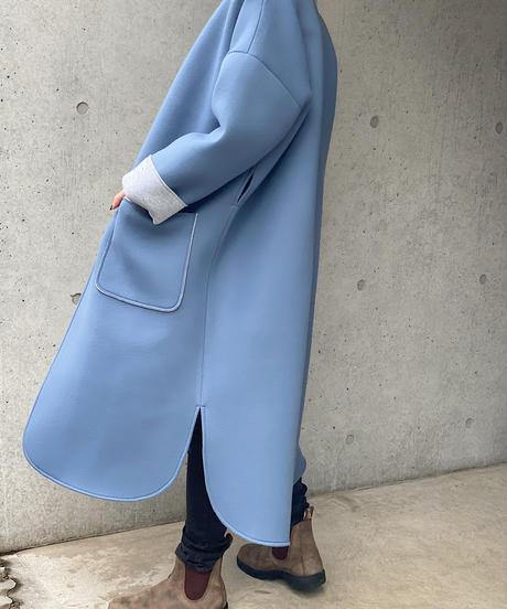 (original)neo coat  (ブルー×ライトグレー)