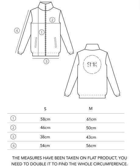 [S M K] ICE RECYCLED POLYESTER JACKET