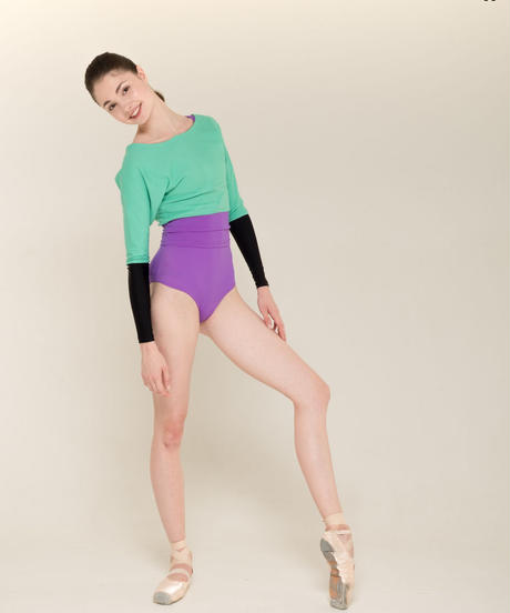 [Zidans] Sweater with colour waist ・2型
