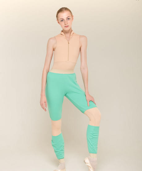 [Zidans] Trousers with colour knee ・2型