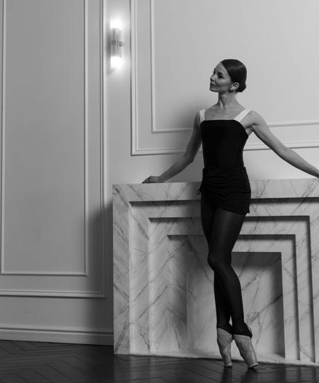 [Ballet Maniacs] Leotard Victory by Evgenia Obraztsova Black & White
