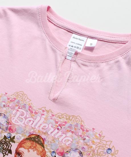 [再入荷・Ballet Papier] T-SHIRT 'BALLERINA'