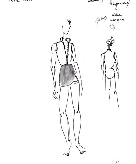 [Zidans] Wrap skirt ・S丈:4型