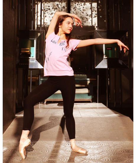 [Ballet Papier] T-SHIRT EMPIRE 'BALLET GIRL'