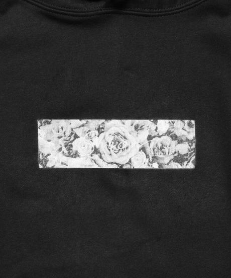 フラワーBOXロゴパーカー(ブラック)