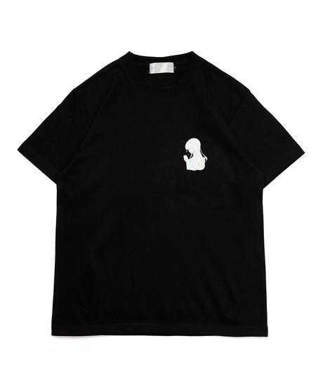 イラストTシャツ(ブラック)