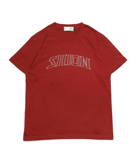 BIGロゴTシャツ(バーガンディー)