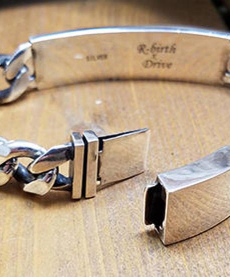 ''R'' ID Bracelet(オリジナル刻印ver)