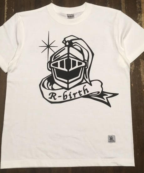 R-birth mega helm logo T-shirts